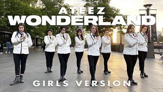 [KPOP IN PUBLIC] ATEEZ (에이티즈) 'WONDERLAND' Dance Cover + HEELS CHALLENGE | Cypher Dance Crew