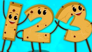 cookies numbers | the numbers song | countings numbers 123 | nursery rhymes | kids songs