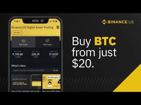 Trading bitcoin on binance