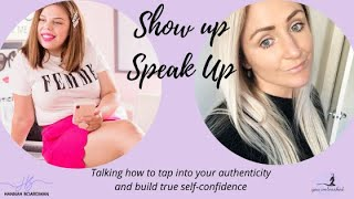 HOW TO SHOWCASE YOUR AUTHENTICITY AND BUILD BULLET PROOF SELF-CONFIDENCE ONLINE