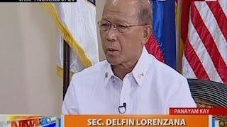 NTG: Panayam kay Defense Secretary Delfin Lorenzana