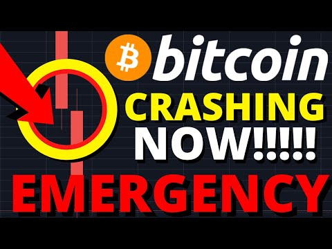EMERGENCY UPDATE!!! THE BITCOIN PRICE IS CRASHING NOW & DUMPING TO THIS EXACT PRICE!!!