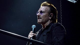 U2's Experience + Innocence Tour live from Milan October 15, 2018, ...