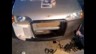 видео Тюнинг бампера автомобиля ВАЗ 2114
