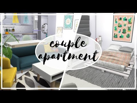 Apartament Dla Pary - The Sims 4 Speed Build: Apartamenty