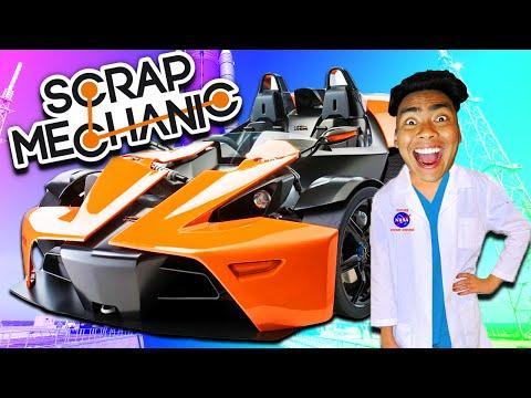 FASTEST CAR IN THE WORLD! | Scrap Mechanic #2