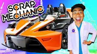 FASTEST CAR IN THE WORLD! | Scrap Mechanic #2
