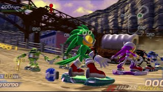 Sonic Free Riders (Xbox 360/Kinect) - Parte #4 - Team Babylon #1 - LET