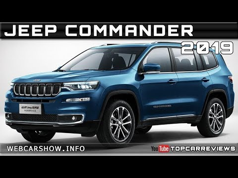 2019 Jeep Commander Review Rendered Price Specs Release Date