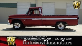 1964 Chevrolet C 10 Longbed Stock #480 Gateway Classic Cars of Houston