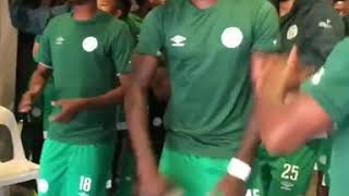 Bloem Celtic players singing Mthwalo wam