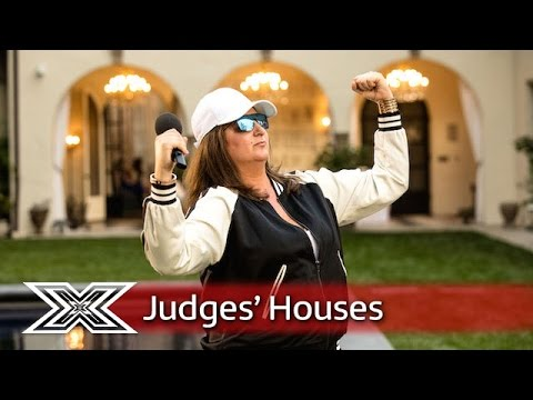 Honey G performs Gangsta's Paradise for Sharon and Robbie!    Judges' Houses   The X Factor 2016