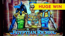 Money Link Egyptian Riches Slot - GREAT SESSION, ALL FEATURES - HIGH LIMIT ACTION!