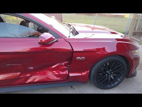 Download Uber Man gets T-Boned in the 2015 Mustang GT - Part 1