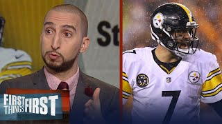 Nick and Cris react to the Steelers 23-20 win over the Bengals during Week 13 | FIRST THINGS FIRST