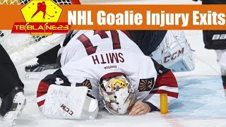 NHL Goalie Injury Exits