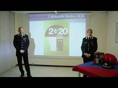 Calendario storico 2020 dell'Arma dei carabinieri