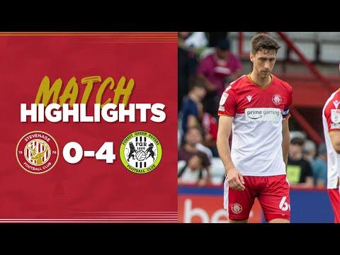 Stevenage Forest Green Goals And Highlights
