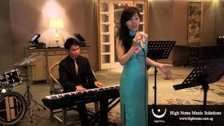 Download Imelda Teo performs AVE MARIA (The Wedding - Julie Rogers) with The Summertimes Hotshots
