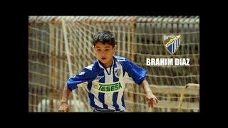 LOS INICIOS DE BRAHIM DIAZ   Así jugaba en el Málaga CF