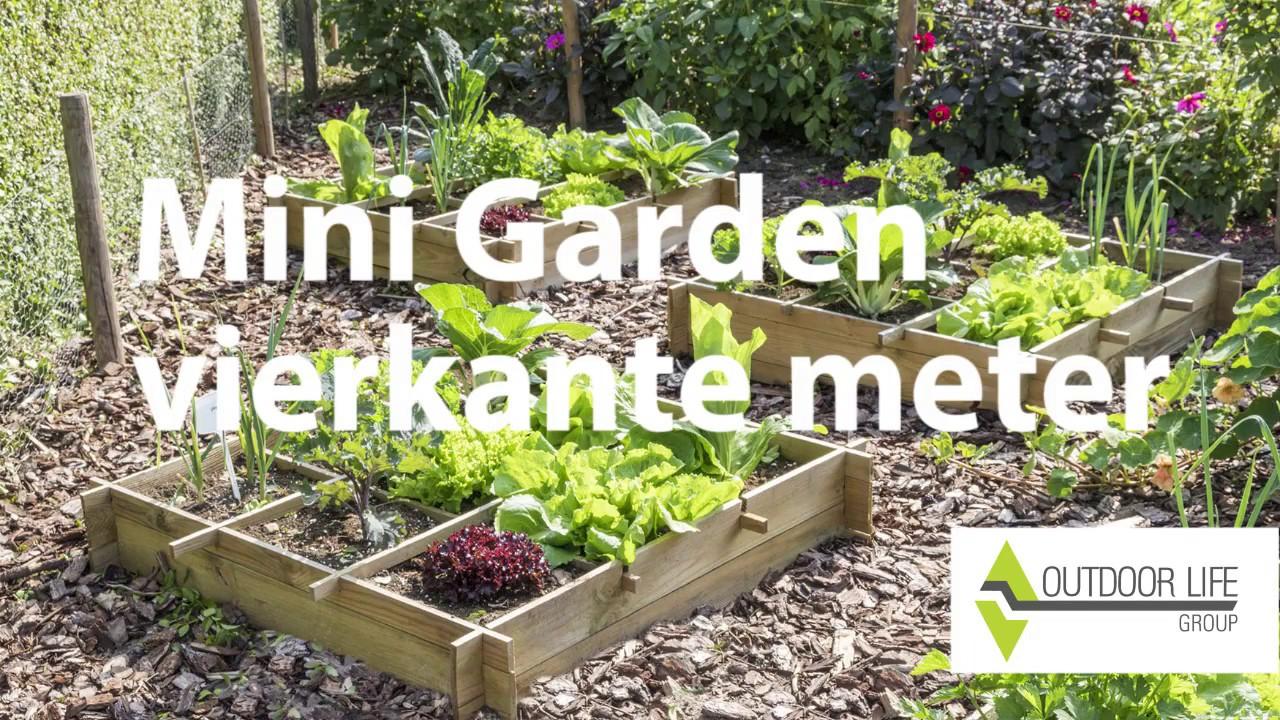 Vierkante Meter Tuin : Vierkante meter tuin versie youtube