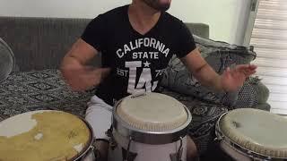 Congas percussão abakua