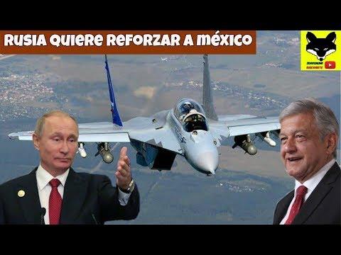 Rusia Quiere Reforzar A La Fuerza Aérea Mexicana Con El Avión Caza MIG 35