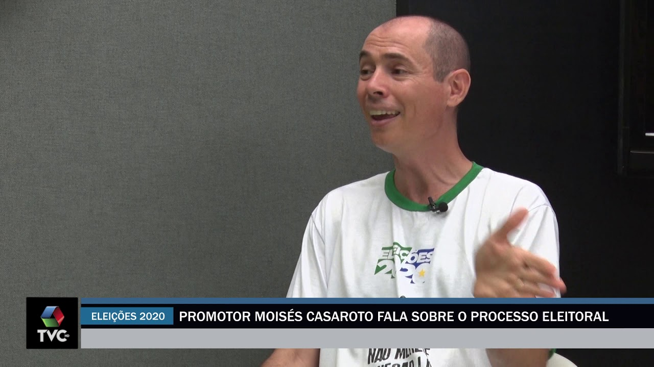 Promotor Moisés Casaroto fala sobre o processo eleitoral