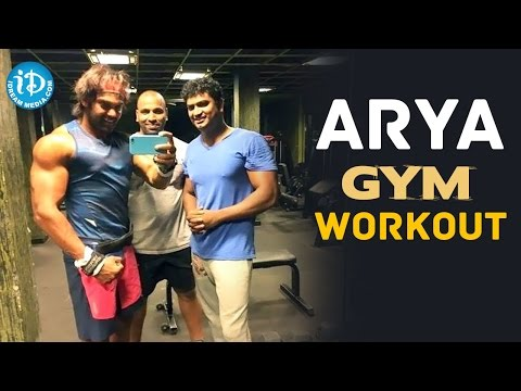 Arya Gym Workout For Bangalore Naatkal Movie - Fitness Mantra