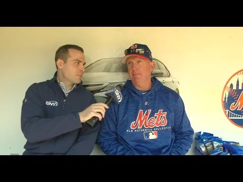 New York Mets pitching coach Dave Eiland talks about his staff