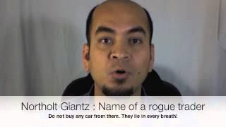 Northolt Giantz, name of a rogue trader