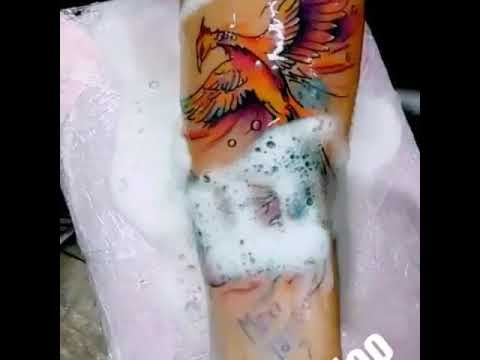 Trabajito A Color Ave Fenix Maxi Tattoo Youtube