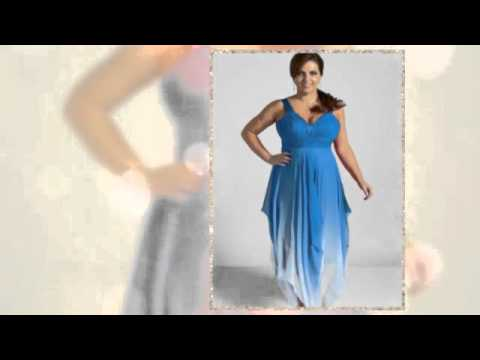 Шифоновые платья для полных
