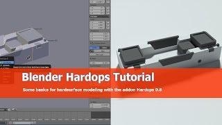 Blender Hardops Tutorial: Basics
