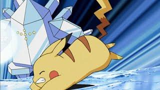 Pikachu vs. Regice! | Pokémon: Battle Frontier | Official Clip
