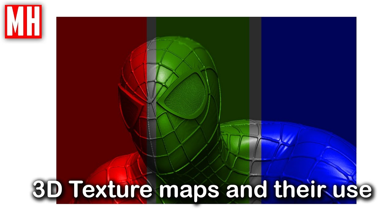 3d Texture Maps What Are They And How Do You Use Them Youtube