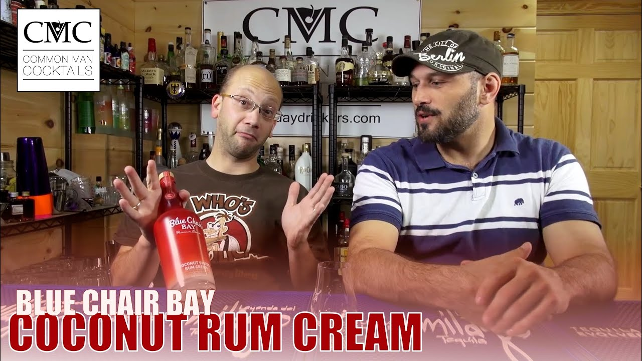 Blue Chair Bay Coconut Rum Blue Chair Bay Coconut Spiced Rum Cream Review Youtube