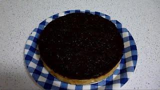 Tarta De Flan Galletas Y Chocolate / Flan Cake And Chocolate Cookies