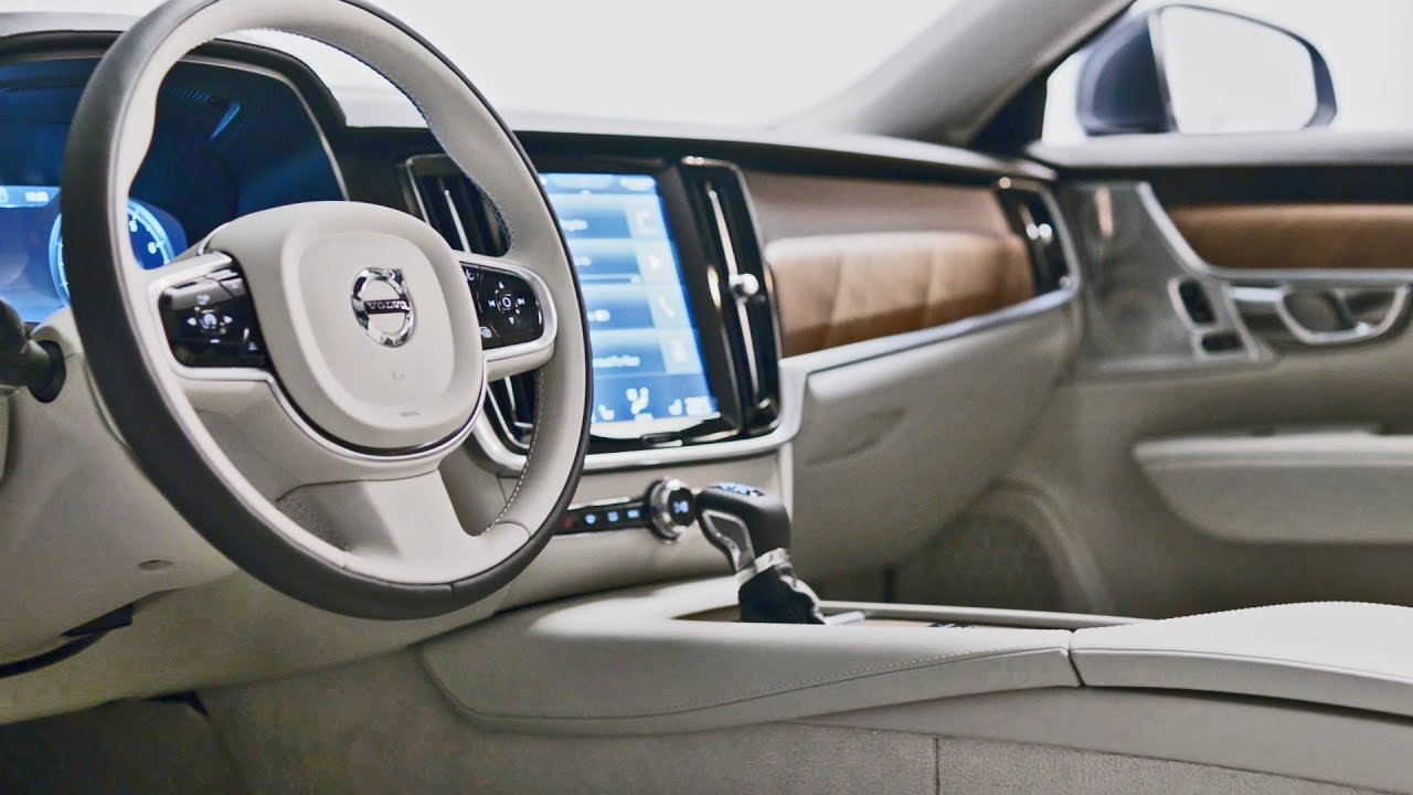 2017 volvo s90 interior youtube