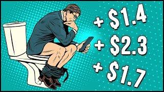 Как заработать за 5-10 минут - Игра КНБ на деньги онлайн