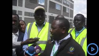 NEMA shutdown Giloil Company Nairobi for dumping effluence into the Ngong River