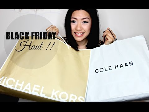 BLACK FRIDAY HAUL 2014 - Michael Kors, Cole Haan, Aeropostale & More ! | MISSYANYI