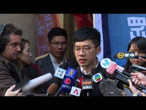 Hong Kong democracy activists appeal jail terms