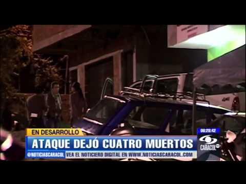 Cuatro muertos por balacera en Bello, Antioquia