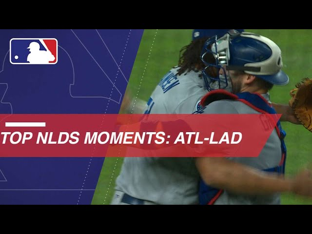 Watch the best moments of NLDS between Braves and Dodgers
