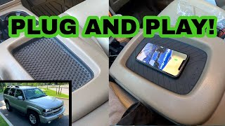 How to EASILY ADD WIRELESS CHARGING to your 2003-2014 GM Truck or SUV!