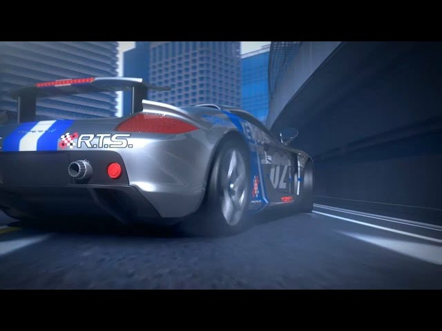 R4 RIDGE RACER Type 4 Opening Remake version