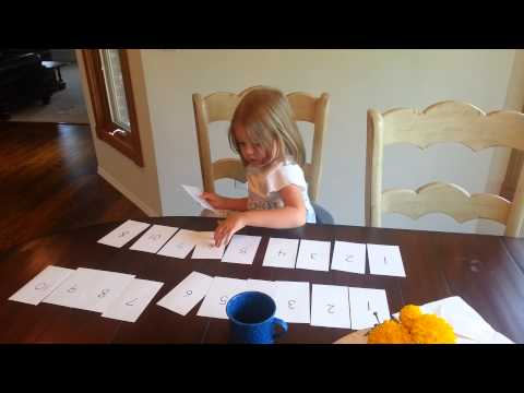 Homeschooling A Toddler With Saxon Math K, Part 1