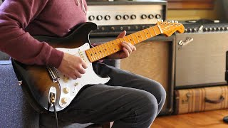 Hendrix Doublestops on Michael Kiwanuka#39s Cold Little Heart Guitar Lesson