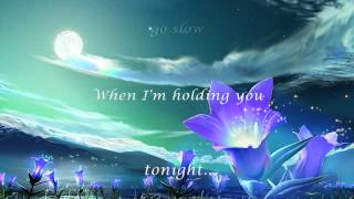 Forever Tonight  || Lyrics ||  Peter Cetera and Crystal Bernard